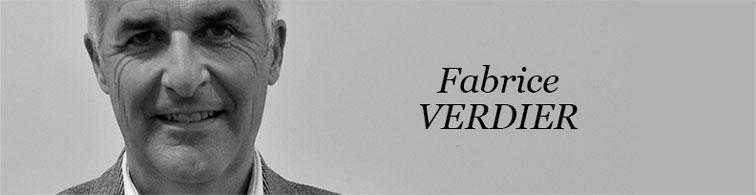 Fabrice Verdier Président de la Communaute de communes