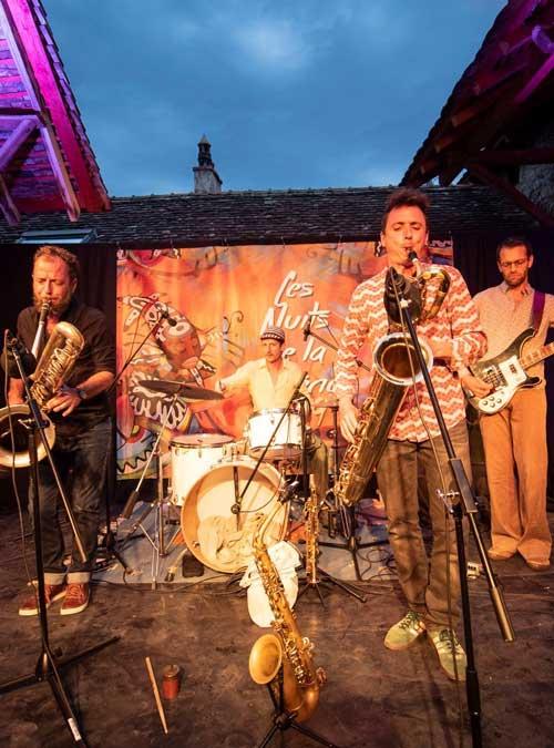 Le groupe Imperial Quartet en concert