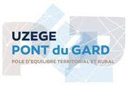 Logo Uzège pont du Garfd, pôle d'équilibre territorial et rural